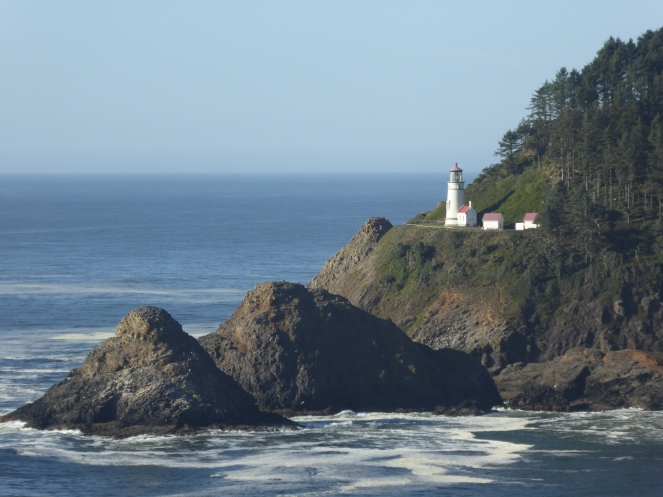 heceta head lighthouse, Oregon Coast, USA