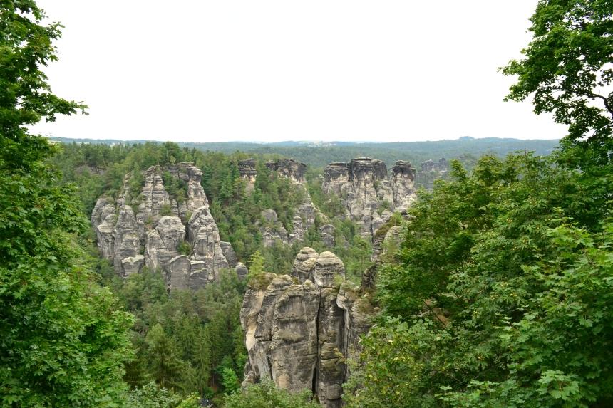 Basteibrucke, Saxony, Germany