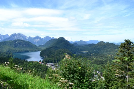 Hohenschwangau Town, Bavaria, Romantic Road, Germany