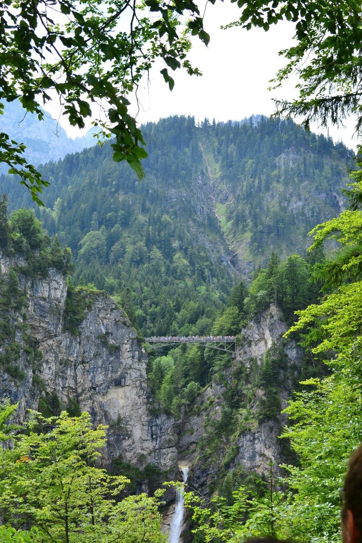 View of Marion Bridge from Neuschwanstein Castle