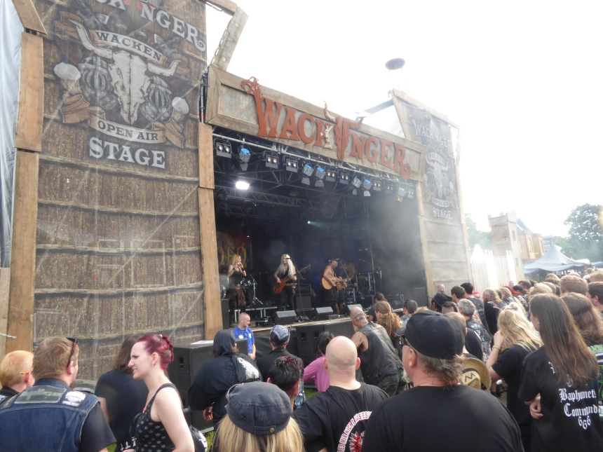 Viking village stage at WOA Wacken Open Air
