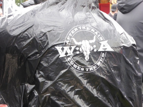 WOA Wacken Open Air branding poncho