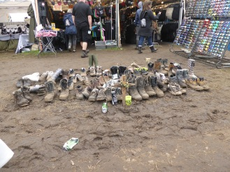 RIP muddy boots at WOA Wacken Open Air Festival