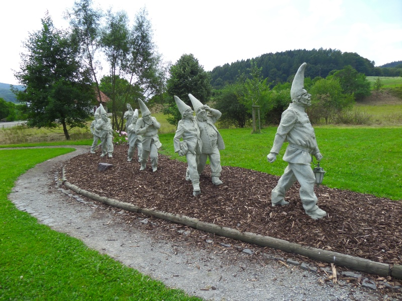 Snow white's seven dwarf's in Bergfreihiet