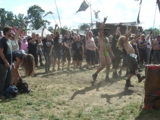 Wacken Open Air heavy metal festival Germany