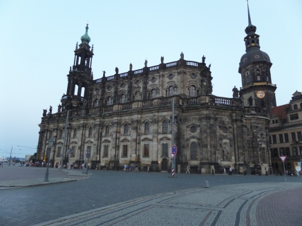 Dresden Cathedral, Saxony, Germany