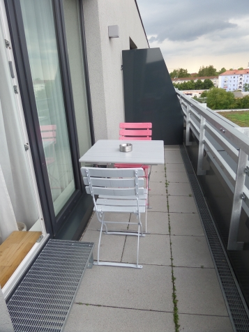 Balcony at the BOLD Hotel München Giesing