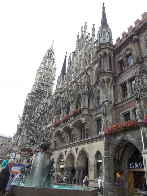Rathaus, Marienplatz, Munich, Germany