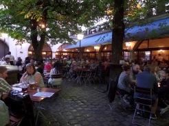 Hofbrauhaus courtyard Munich