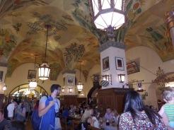 Hofbrauhaus interior Munich