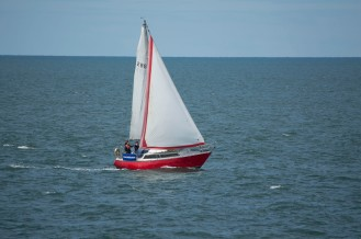 Sailing in the Solway