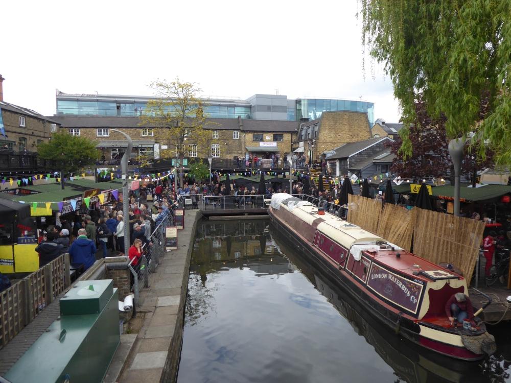 Camden Town Camden Locks area
