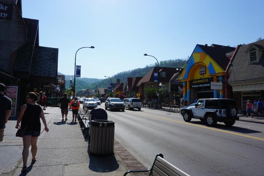 Gatlinburg strip Tennessee