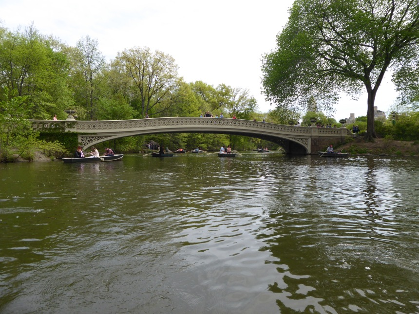 Bow Bridge, Central Park from The Lake