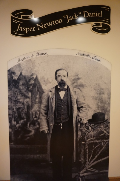 Photo of Jack Daniel inside his distillery in Lynchburg TN