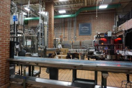 Jack Daniel's bottling plant