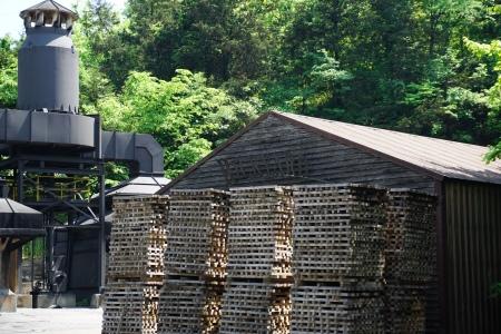 Rick Yard in Jack Daniel Distillery