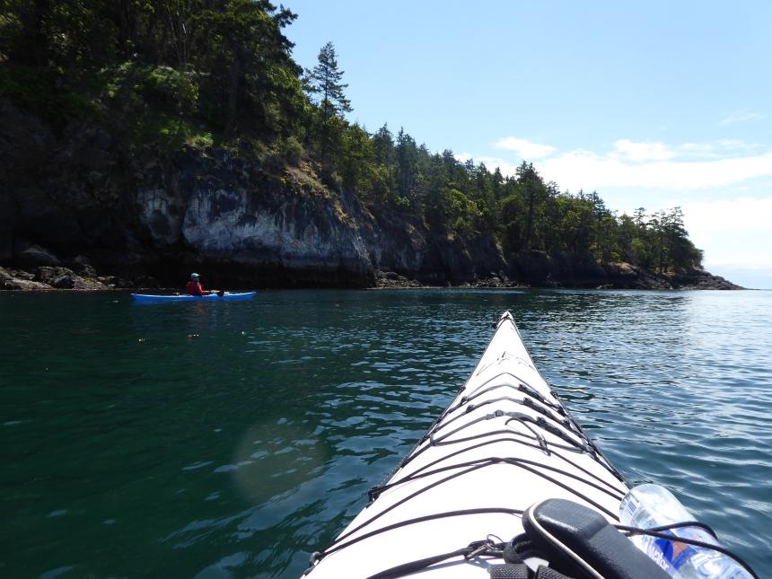 Sea Kayaking in the Haro Strait Washington